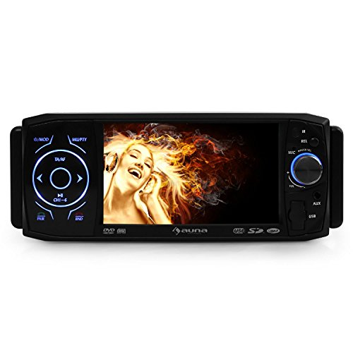 test auna mvd 420 autoradio moniceiver dvd player bluetooth 11cm 4 3 zoll lcd tft touchscreen. Black Bedroom Furniture Sets. Home Design Ideas
