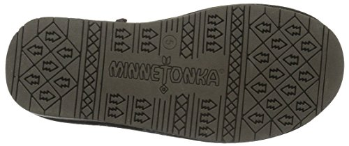 Minnetonka Olympia, Bottes Classiques Femme Marron (Chocolate)