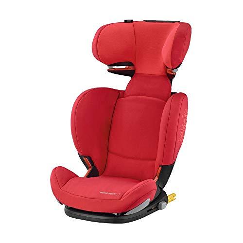 Bébé Confort RodiFix AirProtect Seggiolino Auto 15-36 kg, Gruppo 2/3 per Bambini dai 3.5 ai 12 Anni, Reclinabile, Isofix, Rosso...