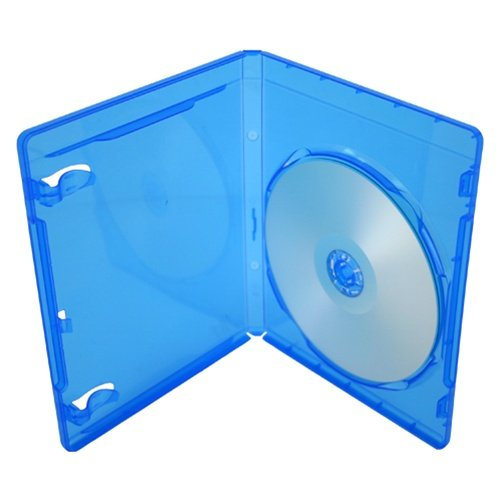 5 x Blu-Ray, 11 mm, custodie per 1 disco con logo con drago trading®