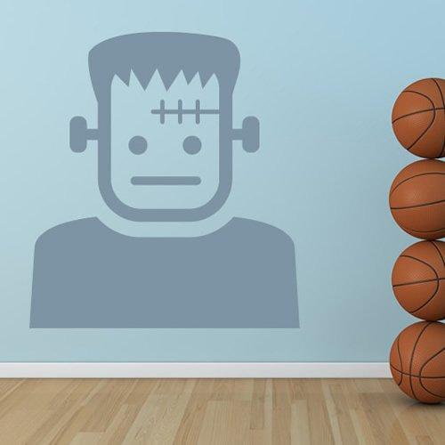 Cartoon Frankenstein Halloween Wandaufkleber Wandtattoo Kunst verfügbar in 5 Größen und 25 Farben Groß - Halloween Cartoon Frankenstein