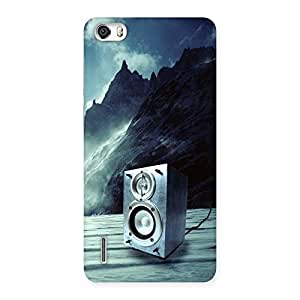 Special Speaker Of Snow Back Case Cover for Honor 6