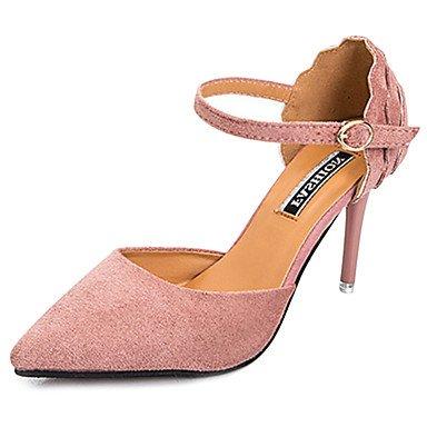 Zormey Damen Sandalen Komfort Im Sommer Pu Outdoor Stiletto-Absatz US5.5 / EU36 / UK3.5 / CN35 cauiQAa
