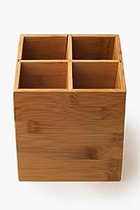 utensilienhalter besteckst nder aus bambus. Black Bedroom Furniture Sets. Home Design Ideas