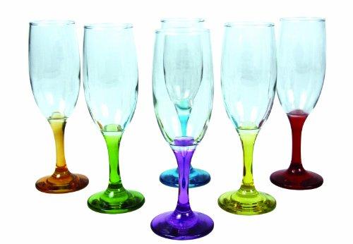Arc International Arc en Ciel 7069017 de champán 190 ml-varios colore