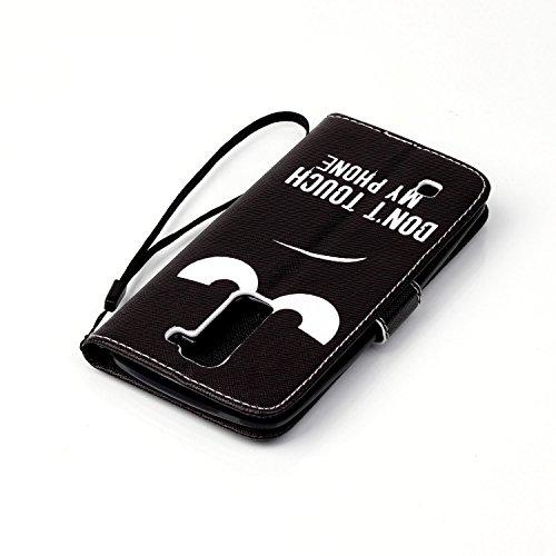 Voguecase® Pour Iphone SE Coque, Etui Housse Cuir Portefeuille Case Cover (Dragonne-Somnolent Chouette)de Gratuit stylet l'écran aléatoire universelle Dragonne-my phone