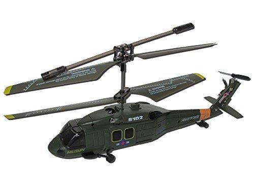 Helicopter SYMA S111G 3-Kanal Infrarot mit Gyro (Schwarz-Rot-Weiss)