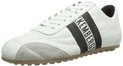 Bikkembergs 640979 640979 Unisex-Erwachsene Sneaker, Schwarz (weiß/schwarz 1), EU 46