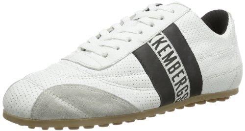 BIKKEMBERGS 640979 640979 Unisex-Erwachsene Sneaker, Weiß (weiß und schwarz), EU 38
