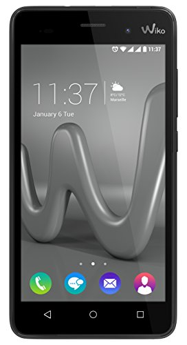 "Wiko Lenny 3 5"" SIM Doble 1GB 16GB 2000mAh Negro, Gris - Smartphone (12,7 cm (5""), 1 GB, 16 GB, 8 MP, Android 6.0, Negro, Gris)"
