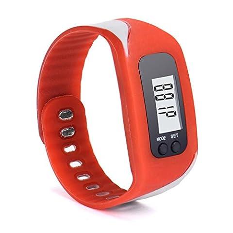 Dasing, Digital LCD podomètre Exécuter étape Walking Distance Calorie Counter montre bracelet