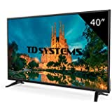 """TD Systems K40DLM7F - Televisor Led 40"""" Full HD, Resolución 1920 x 1080, 3x HDMI, VGA, USB Reproductor y Grabador"""
