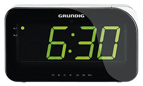 Grundig Sonoclock 490 Radio Despertador, plastico, Negro, Gris