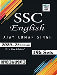 SSC English 'Error Free Solutions' (195 Sets) - 2020-21