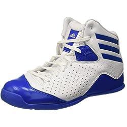 adidas NXT LVL SPD IV, Zapatillas de Baloncesto para Hombre, Blanco (Ftwbla / Azul / Ftwbla), 46 EU