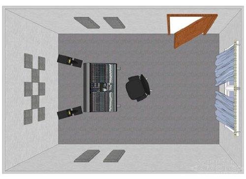 Primacoustic LONDON 8 ROOM KIT DE TRAITEMANT ACOUSTIQUE POUR PIÈCE DE 8 M2 BEIGE Home Studio Zubehör Akustikpaneele