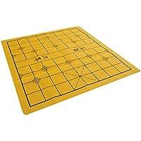 Quantum Abacus Xiangqi & Go: Hochwertiges Xiangqi und Go Spielbrett / Spielfeld aus Kunstleder, beidseitig Bedruckt (nur Spielbrett, Keine Spielsteine), 46 x 45 cm, Mod. BGXQ-01