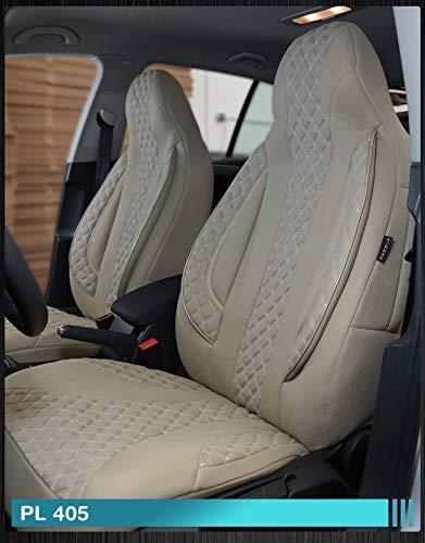 Maß Sitzbezüge Ford Focus 1 Fahrer & Beifahrer ab BJ 1998-2004 Farbnummer: PL405 - Ford 1998 Sitzbezug