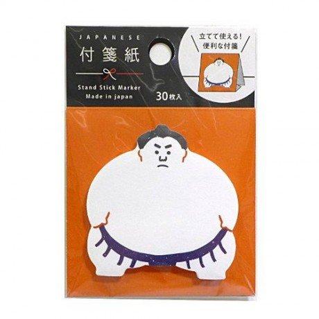 gracioso-bloc-de-notas-autoadhesivas-con-soporte-luchador-sumo-de-japon
