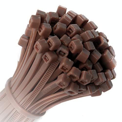 KOTiger ca. 100selbstsperrenden Nylon Kabelbinder 100mm x 2,5mm (Reißverschluss Krawatte Grundlagen) -