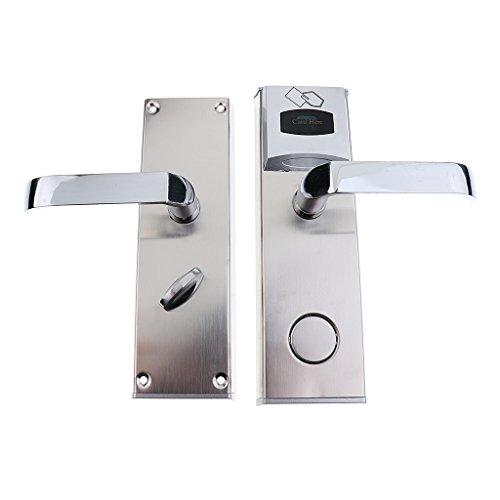 Sharplace Elektronische Türschloss Schrankschloss Für Haus Hotel - Silber