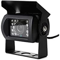 ZOGIN E629 420TVL CMOS Cámara Sistema de Visión Trasera Coche, Cámara de Marcha Atrás con Función de Visión Nocturna (Tiene 18 LEDs), Alta Definición y ...
