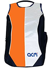 "Acm Premium Laptop Backpack Padded Bag For Dell Vostro 15 3558 15.6"" Laptop Orange"