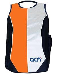 "Acm Premium Laptop Backpack Padded Bag For Dell Inspiron 5558 15.6"" Laptop Orange"