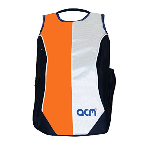 """Acm Laptop Backpack Padded Bag Compatible with Rdp Thinbook 1430a Netbook 14.1"""" Laptop Orange"""