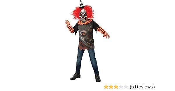 Brand New Freak In A Box Jester Clown Child Costume