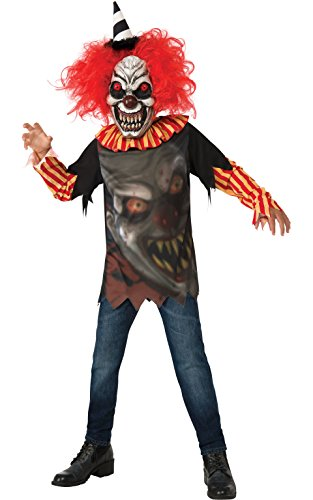 Rubie 's Offizielles Freak Clown Kostüm unisex-child (Kid Kostüm Zombie Killer)