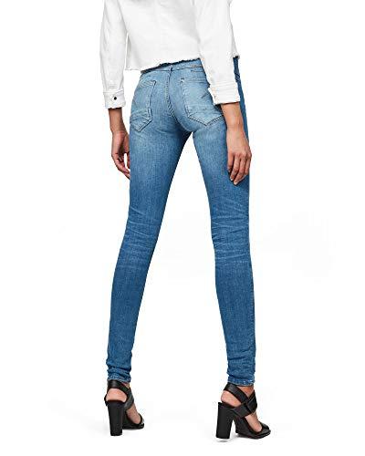 G-STAR RAW Damen D-STAQ 5-Pocket Mid Waist Skinny Jeans