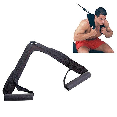 Grofitness Bauch-Crunch-Gurt Bauchmuskel-Workout Schultergurt Nylon Heimgym Hantelgurt