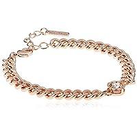 Mestige Rose Gold Shimmer Bracelet with Swarovski Crystals