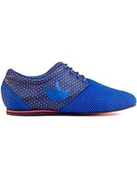 Manuel Reina - Zapatos de Baile Latino Hombre Daniel Sport EVO Blue - Bailar Bachata y