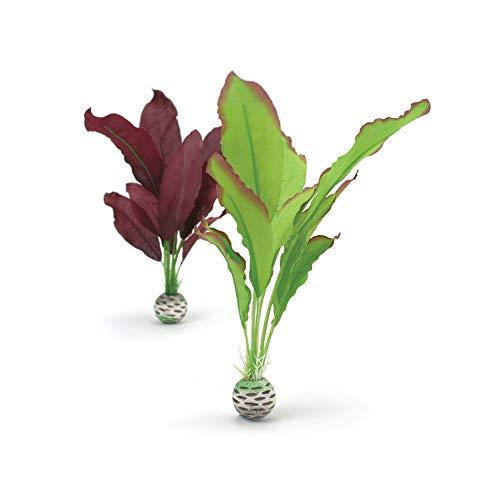 OASE biOrb Seidenpflanzen Set mittel, grün und lila