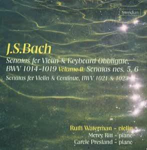 Bach: Sonatas for Violin and Keyboard Obbligato, Volume II