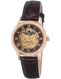 Yonger & Bresson YBD 8525-05 - Reloj de pulsera mujer, piel, color marrón