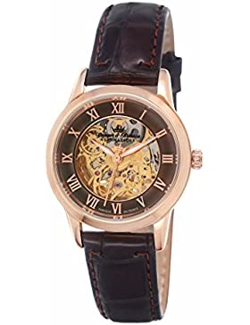Yonger & Bresson Damen-Armbanduhr Saumur Analog Automatik Leder YBD 8525-05