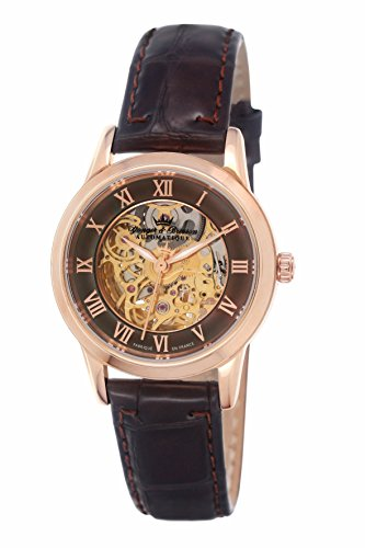 Yonger & Bresson Women's Analogue Automatic Watch with Leather Strap – YBD 8525-05