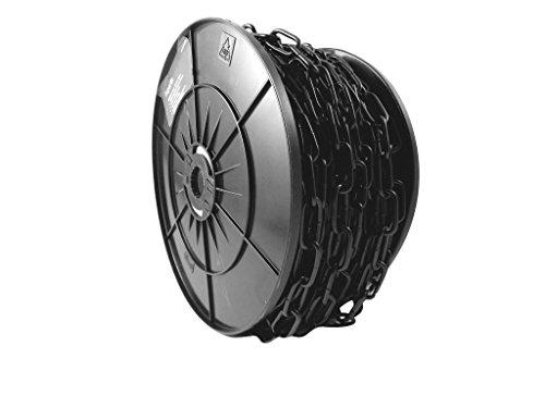Soudé 30m lien de la chaîne Electro acier plaqué noir 3x21mm