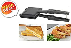 Special Snack & Sandwich Gas Toaster Sandwich Maker (Non-Electric, Non Stick Coating) (Product Colour May Vary)