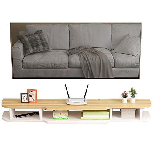 WSNBB TV-Schrank, Wand-TV-Schrank, Set-Top-Box-Rack, Größe 140 cm * 20 cm * 24 cm (Farbe : E) -