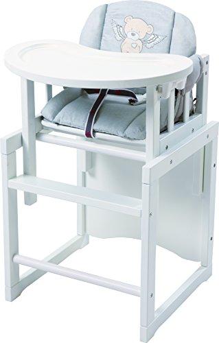 roba Kombi-Hochstuhl, Baby- & Kinderhochstuhl mit verstellbarem Essbrett wandelbar zu Tisch & Stuhl,...