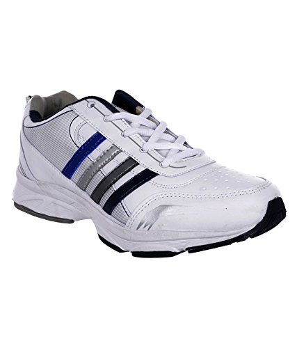 LIMNOS SPORTS WHITE/BLUE  available at amazon for Rs.599