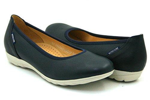 Mephisto Damen Schuhe Slipper Ballerinas Emilie Blue Blau E 1176 (42 EU)