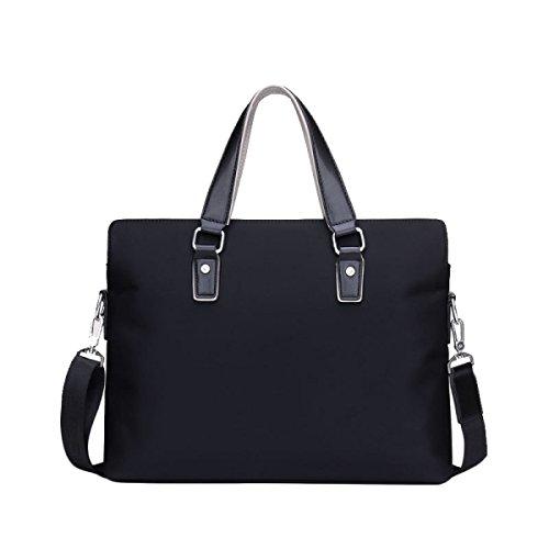 Herren Business Bag Bag Handtasche Computer Tasche Aktentasche Schultertasche Oxford Bag Large Capacity Black