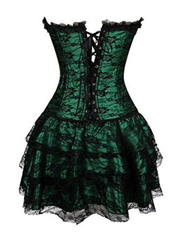 KuSen - Bustino -  donna Verde