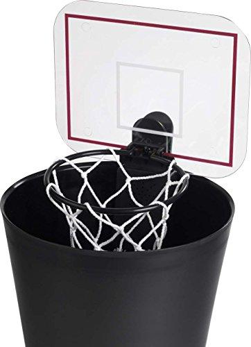 balvi-Shoot!elektronischerBasketballkorbfürdenPapierkorb.WirdmitZweiAA-Batterienbetrieben(Nichtinbegriffen).