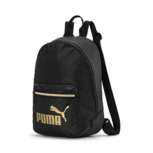 PUMA Damen WMN Core Seasonal Archive Backpack Rucksack, Black-Gold, OSFA